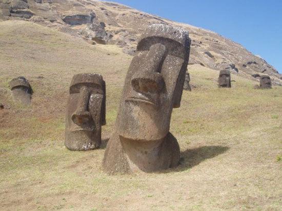 Super Les statues de l'île de Paques ont un corps ! - trucs.xig.fr FL85