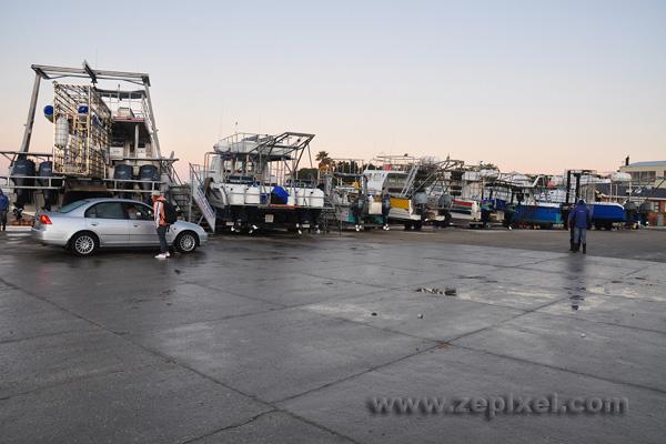 Les bateaux de Gansbaii